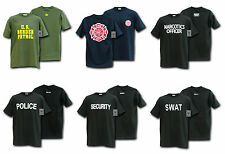 Tee Shirts- Law Enforcement Military Security Police SWAT Fire & Rescue Clothing
