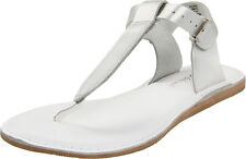 Silver T-Thong Salt-Water Sandals for Adult Women Size 5, 6, 7, 8, 9, 10, 11