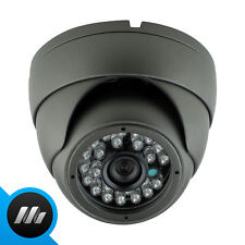 Grey 420 -700 TVL Sony CCD Outdoor Night Vision Dome CCTV Camera Infrared Domar