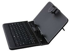 "7"" USB Keyboard Cover Case for Acer A1 840 850 W1 B1 810 Dell Venue 7 8 Tablet"