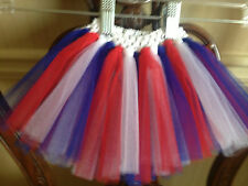 4th of July Red, White, and Blue handmade tutu size newborn to 5 yrs