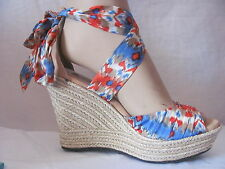 New UGG Australia 1000695 Womens Casual Lucianna Wedge Heels Sandals Shoes $150