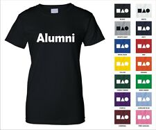 Alumni Class College High School Graduated Funny Woman's T-shirt