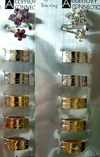 WHOLESALE LOT OF 12 PC TOE RINGS FASHION JEWELRY