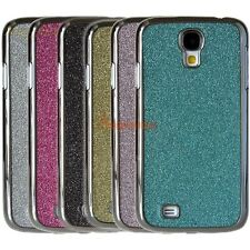 For Samsung Galaxy S4 i9500 Glitter Bling Crystal Chrome Hard Phone Case Cover