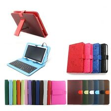 "De Cuero PU Keyboard Case Para 7 ""pulgadas' 9"", 9.7"", 10"" Pulgadas Android Tablet Pc"
