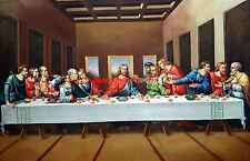 The Last Supper, Leonardo da Vinci, Art Canvas Print, Giclee Print, Hign Quality