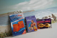 Water Accessories - Water Fun & Disney Arm Bands and Goggles