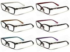 DG EYEWEAR® DESIGNER READING GLASSES WOMENS LADIES MENS SPECTACLES D.G-R2022 NEW