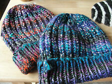 MUDD brand Winter Hat, Knitted, Colorful, ONE-SIZE