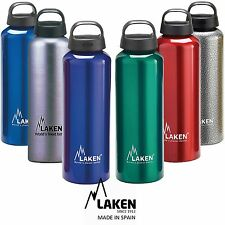 New Laken Classic Aluminum Sports Drinking Water Bottle Wide Mouth BPA Free
