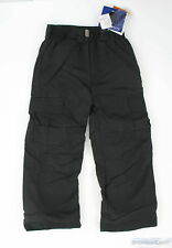Pulse Cargo Ski Snowboard Waterproof Pant Black Youth