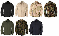 PROPPER MILITARY TACTICAL BDU 4 POCKET COAT JACKET RIPSTOP- 100% COTTON- F5454