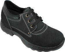 """CALDEN K231010 - 3"""" Taller Elevator Height Increase Nubuck Leather Casual Shoes"""