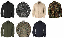 BDU COAT/JACKET PROPPER TACTICAL RIPSTOP COTTON/POLY GENUINE GEAR - F5450
