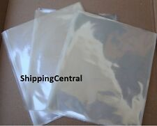 Shrink Wrap Flat Bags 6 1/4 x 10 3/4 DVD Gifts Etc PVC Pieces 25 50 100 250 500