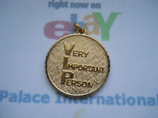 14K Gold Filled V.I.P. Very Important Person Pendant Item #6063 BN