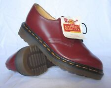 Vintage Dr. Doc Martens Youth Cherry Red Gibson Shoe UK 3 & 4 MADE IN ENGLAND