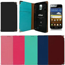 SIRIUS S-flip Leather Wallet Cover Case for Samsung Galaxy S2 LTE Skyrocket i727