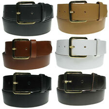 "40mm New Genuine 1.5"" Full Grain Mens Leather Belt Made in the UK"