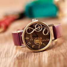 2013 new styles Pu leather watches fashion ladies wrist watch