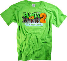 Plants vs Zombies 2 T-Shirt Plush Toys Figures Xbox 360 Merchandise Clothing