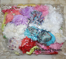 SALE!!! Grab bag Lot huge different color style baby headbads.Total 100 pc, USA