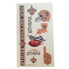 New Orleans Saints, LSU Tigers, and Louisiana Temporary Tattoos and Face Paint
