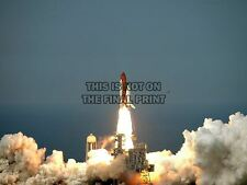 SHUTTLE ENDEAVOUR FROM LAUNCH PAD KENNEDY SPACE CENTER ART PRINT POSTER