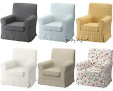 Ikea Cover EKTORP JENNYLUND Chair  Armchair Slipcover Assorted Colors Patterns