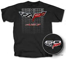 2014 Chevrolet C7 Stingray Corvette 60th Annivesary GM Chevy 427 Black T Shirt