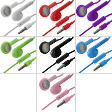 Earphone Headset Earphones with Mic for iPhone 4 4G 4S 3GS iPod Touch White