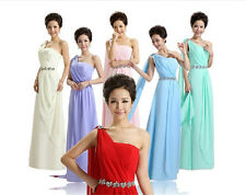 6Colour Wedding Angel Women's Dresses Bridesmaid Evening Party Formal Prom Dress
