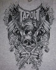 "Tapout ""WARRIOR"" STRENGHT FOCUS DISCIPLINE HONOR Tee T-Shirt MMA FIGHT CLUB"