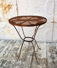 """Wrought Iron 21"""" Child's Table Children's Metal Seating"""