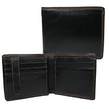 Kenilworth Gents Mens High Quality Leather Wallet 14 Credit Card Slot 850