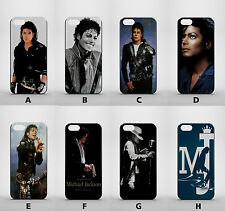 MICHAEL JACKSON KING OF POP APPLE IPHONE 5 5s 5c 6 5 plus GLOSSY HARD CASE COVER