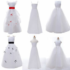 Formal Pageant Flower Girl Bridesmaid Wedding  Dance Dress Christening Dresses