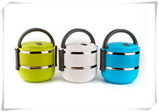 New Fashion stainless steel portable double insulation lunch box