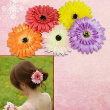 Wholesale 1/5/10/50 PCS Girls Baby Daisy Flower Hair Clip Rope For Wedding Party