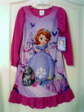 Disney Sofia The First NWT Long Sleeve Nightgown Size 3T 4T
