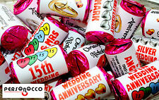 Personalised Wedding Anniversary Love Hearts Sweets Party Favours
