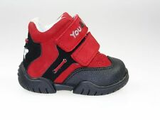 You & Me Baby Boots Unisex Red Suede Leather Soft Flexible Zone New