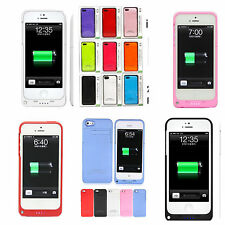 IPhone 5 Air Extended Battery Pack Backup Charger Case/Cover Juice Power Bank