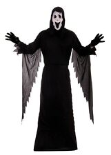 Fancy Dress Halloween Adults Scream Demon Ghost Costume Includes Free Mask