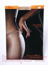Sexy hot Women Oil Shiny Glossy Stocking pantyhose Tights With Beige Color *New*