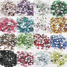 New 800pcs 4mm Diy Facets Resin Rhinestone Gems Flat Back Crystal beads U Pick