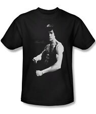 Bruce Lee Ripped Dragon Stance Licensed Tee Shirt Adult S-3XL