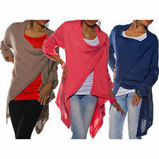 Women's Warm Poncho Winter Maternity Long Cardigan Button Fastened NEXT DAY