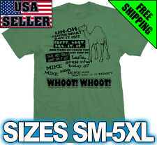 HUMP DAY Camel Shirt - Funny Geico Commercial humpday Military What day is it?